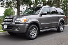 Toyota Sequioa, Large Suv, Old Cars, Trucks, Jeeps, Vehicle, Places, Truck, Jeep