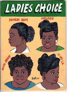 Barber Shop Signs of West Africa