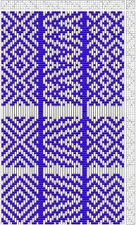 4-Shaft, 4-Block Rep: Sampler - Media - Weaving Today