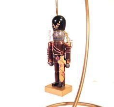 Steampunk Nutcracker Christmas ornament by MelsMakeBelieve on Etsy, $19.87