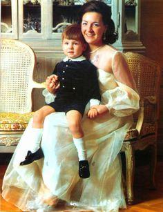 Princess Margriet of The Netherlands and H.H. Prince Maurits of Orange-Nassau van Vollenhoven