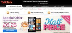 Reevoo reviews on TalkTalk mobile