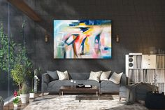 Items similar to Large Modern Wall Art Painting,Large Abstract wall art,texture art painting,abstract originals,bathroom wall art on Etsy Large Abstract Wall Art, Large Canvas Art, Wall Canvas, Large Painting, Painting Art, Textured Painting, Painting Abstract, Art Paintings, Bedroom Paintings