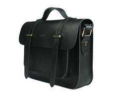 "13"" Handmade Leather Bag for Women&Men, Vintage Cambridge Satchel Bag, Leather Messenger Bag, Crossbody"