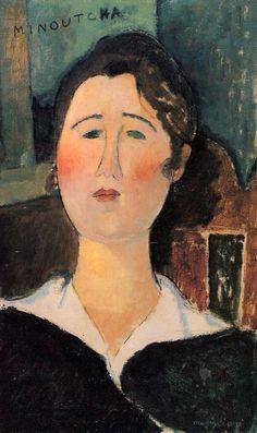 Loved @LACMA's exhibit a few years back. Minoutcha, 1917 Amedeo Modigliani