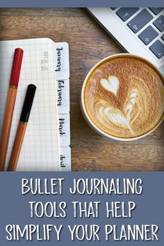 Hop over here for a comprehensive list of bullet journal tools that will make journaling faster, easier and more enjoyable. Bullet Journal Tools, February Bullet Journal, Bullet Journal Tracker, Bullet Journal Spread, Bullet Journal Layout, Bullet Journal Inspiration, Journal Ideas, Bullet Journals, Art Journals