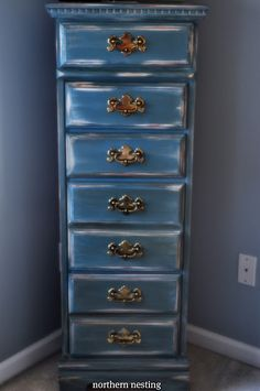 Northern Nesting: Aubusson Blue Chest