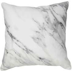 Marble Pillow ($36) ❤ liked on Polyvore featuring home, home decor, throw pillows, decoration, gray throw pillows, marble throw pillow, grey throw pillows, gray accent pillows and contemporary home decor