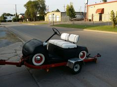 Air Ride Golf Cart My brother bought a beat up