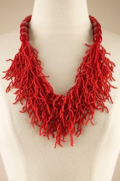 Crazy For Coral Necklace - Necklaces, Jewelry | Soft Surroundings