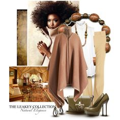 """""""The Leakey Collection"""" by cynthia335 on Polyvore"""