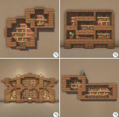 Chalet Minecraft, Casa Medieval Minecraft, Minecraft Mansion, Minecraft Cottage, Easy Minecraft Houses, Minecraft Castle, Minecraft House Tutorials, Minecraft Room, Minecraft House Designs