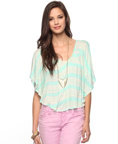 Crochet Yoke Boho Top (Front)- Forever21