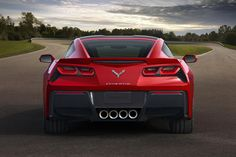 Cause you can never have to many tailpipes for the power and beautiful sound of a Corvette Stingray.