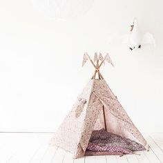 """This is the most beautiful tipi we ever seen. And we have wished for a flowery tipi for years now... And suddenly it's happening. We have it in stock, exclusively at Mokkasin.com This tipi from @numero74_official belongs to the SS16 Capsule Collection, which will be delivered to the rest of the world January 2016. And yes, we ship worldwide!!"""