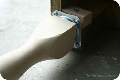 How to add furniture leg
