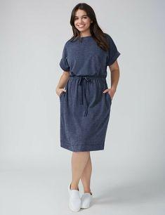 84bc11e3cc15 NWT Lane Bryant Size 10/12 Sweatshirt Dress with Drawstring Waist # LaneBryant #Casual