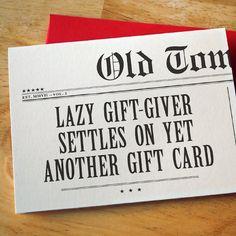 DESIGN FETISH: Old Tom Foolery Greeting Cards