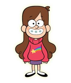 Get a costume like Mabel Pines, the twin sister of Dipper Pines, who spends the summer with Great Uncle Stan on the TV show Gravity Falls. Gravity Falls Wiki, Gravity Falls Characters, Dipper And Mabel, Dipper Pines, Cartoon Wallpaper, Disney Wallpaper, Disney Drawings, Cute Drawings, Monster Falls