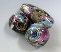 THIS TUTORIAL IF FOR THE INTERMEDIATE BEAD MAKER  USING SOFT GLASS