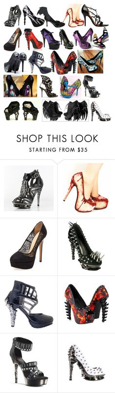 """Lanya's High Heels"" by switchback13 on Polyvore featuring Charlotte Olympia, Iron Fist, HADES, Demonia and Sophia Webster"