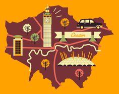 London. by Owen Davey
