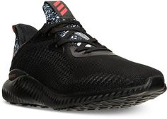 adidas Men's Alpha Bounce Running Sneakers from Finish Line