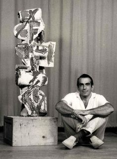 Peter Voulkos was the man who completely changed the way the art world viewed ceramics, blurring the line between fine art and craft, in addition to being one sexy stud. He began teaching at Black Mountain College in Asheville, North Carolina in the early 1950s, and his students went on to become some of the most notable ceramic artists in the later half of the 20th century. In addition to teaching, he was also a world famous sculptor known for his innovative approach to clay. He would rip…