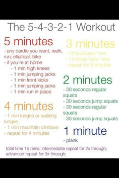 This is the one of the better short workouts I've come across.  15min workout.  No excuses.