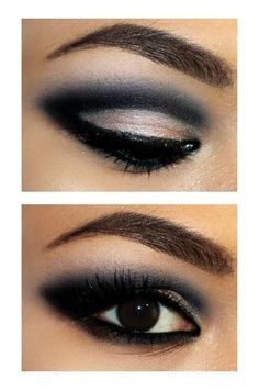 Love this; love black eye shadow...this is very well done