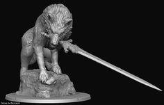 Sif, the Great Grey Wolf Front View - base Dark Souls Artorias, Big Bad Wolf, Naruto Oc, Bloodborne, Wolves, Shadows, Videogames, Board Games, Fantasy Art
