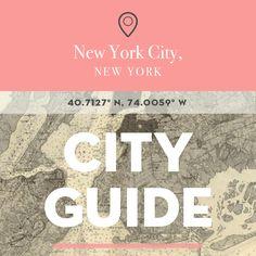 NYC, NY City Guide with Deana Sdao
