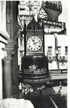 Birk's Jewellery Store, Downtown Hamilton Hamilton Ontario Canada, Big Clocks, Time Photography, A Moment In Time, Historical Pictures, Old Pictures, Big Ben, Vintage Photos, Road Trip