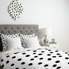 Rebecca Allen Dinner At Eight Duvet Cover | DENY Designs Home Accessories