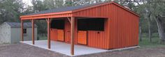 Horse Barns, Shelters & Run In Sheds For Sale | Deer Creek Stables