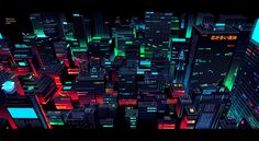 CATSUKA - Beautiful backgrounds by Romain Trystram (he works...