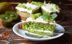 Zielone ciasto szpinakowe