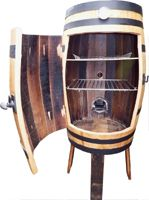 Welcome To Oak Barrel Furniture Food Smoker Made From An Old Whisky Smoke Dat In 2018 Pinterest And