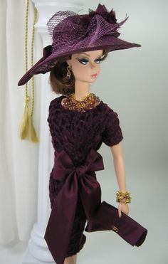 Plum Escape for Silkstone Barbie