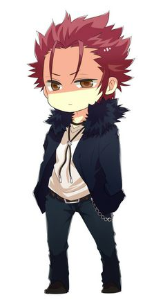 Mikoto (K-Project) Chibi-Version Sweeeet! *__*