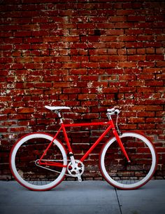 Red & Crispy Bike by My State Bicycle Co.