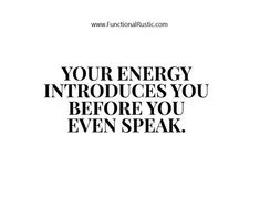 Your energy introduces you before you even speak. www.FunctionalRustic.com #functionalrustic #quote #quoteoftheday #motivation #inspiration #quotes #diy #homestead #rustic #pallet #pallets #rustic #handmade #craft #affirmation #michigan #puremichigan #repurpose #recycle #crafts #country #sobriety #strongwoman #inspirational #quotations #success #goals #inspirationalquotes #quotations #strongwomenquotes #recovery #sober #sobriety #smallbusiness #smallbusinessowner