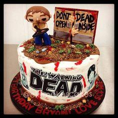 A 'Walking Dead' cake.