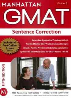 Manhattan Gmat Books Pdf 5th Edition