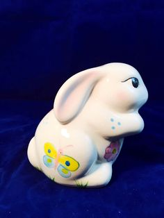 A personal favorite from my Etsy shop https://www.etsy.com/listing/516858591/vintage-porcelain-easter-spring-bunny
