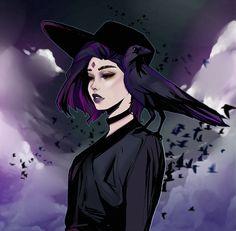 By wolf-fram (DC Comics - Raven) Raven Teen Titans Go, Teen Titans Fanart, Anime Lobo, Raven Fanart, Raven Comics, Raven Beast Boy, Original Teen Titans, Cartoon Art, Art Blog
