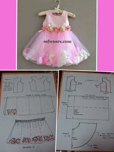 Discover thousands of images about Best 12 – Page 259308891029775505 – SkillOfKing. Frock Patterns, Baby Girl Dress Patterns, Baby Clothes Patterns, Dress Sewing Patterns, Little Girl Dresses, Princess Dress Patterns, Toddler Sewing Patterns, Sewing For Kids, Baby Sewing
