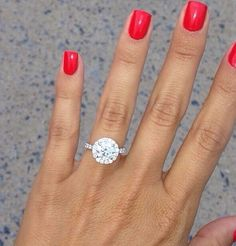 I'm just obsessed okay! ...and hoping my future husband will think to look on my pinterest page for engagement ring ideas ;) hahaha