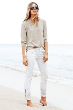 Neutral and Beachy Summer Style