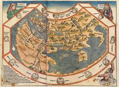 World Map from the 1493 Nuremberg Chronicle